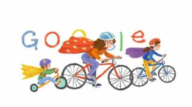 Google Anneler Günü doodle'ı