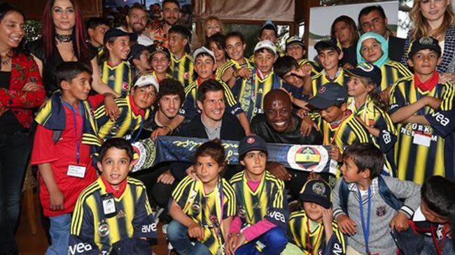 Fenerbahçe'de duygusal anlar