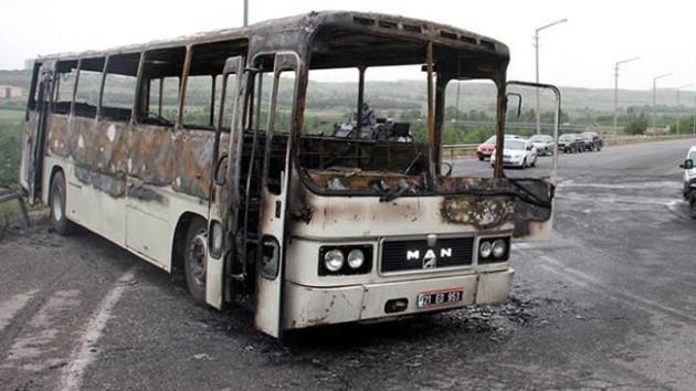 otobüs-yangın