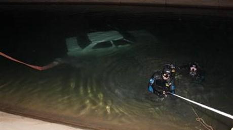 Otomobil sulama kanalına düştü: 1 ölü, 1 yaralı