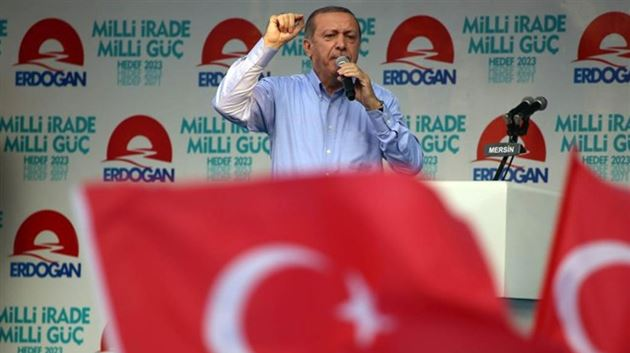 Erdoğan: Monşer ithal ettiler