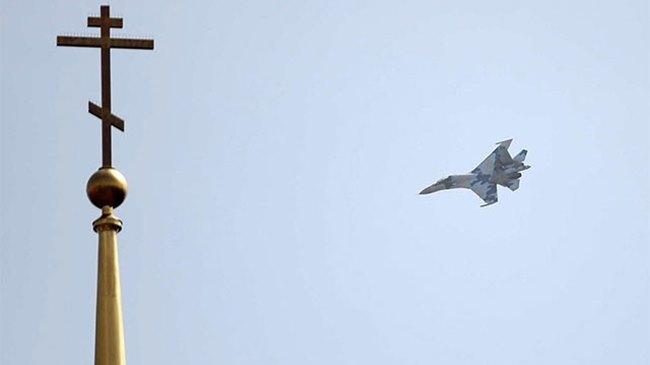 Ukrayna'da iki savaş uçağı düşürüldü