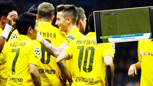 Dortmund-trt canlı maç