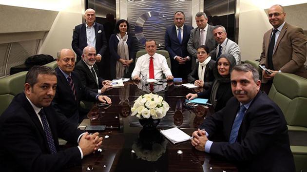 Erdoğan-gazeteciler