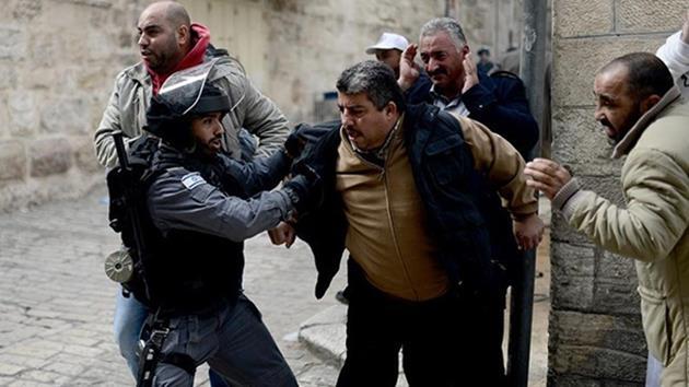 Mescid-İ Aksa-filistin-israil-polis