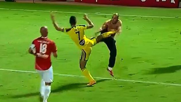 İsrail-maç-kavga