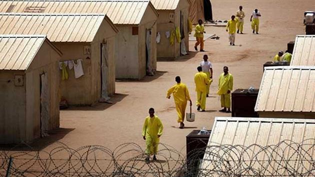 Irak-ABD-Bakka esir kampı