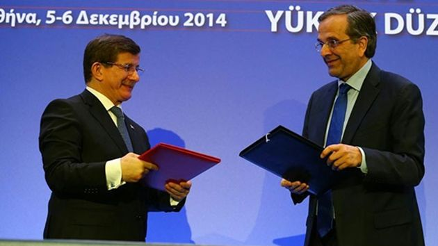 Davutoğlu-Samaras