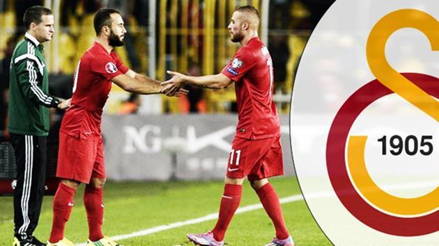 Galatasaray'da Gökhan Töre ve Olcan gerçeği