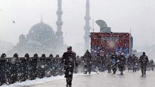 İstanbul-kar yağışı