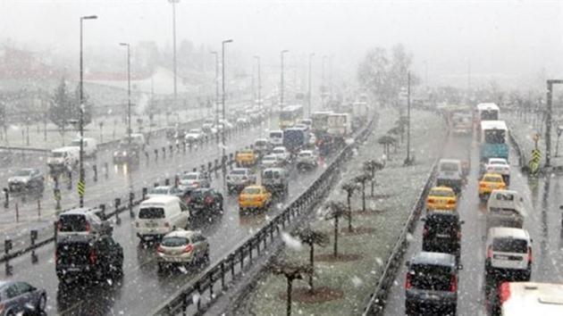 istanbul-kar yağışı