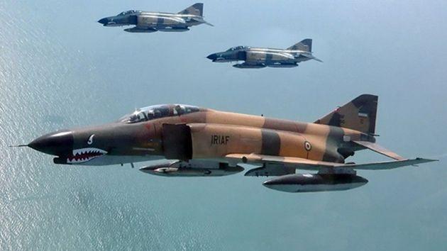 İran savaş uçakları