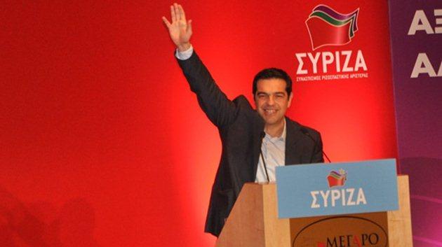 Aleksis Çipras-SYRIZA-yunanistan