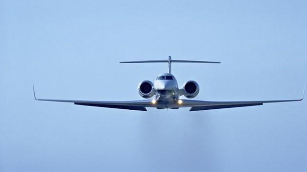 Gulfstream G550 uçak-zerrab