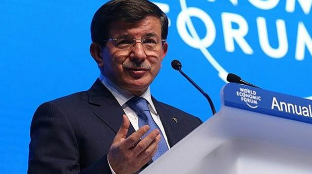 Ahmet Davutoğlu-davos