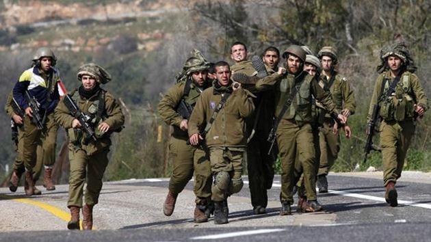 israil-askeri-yaralı