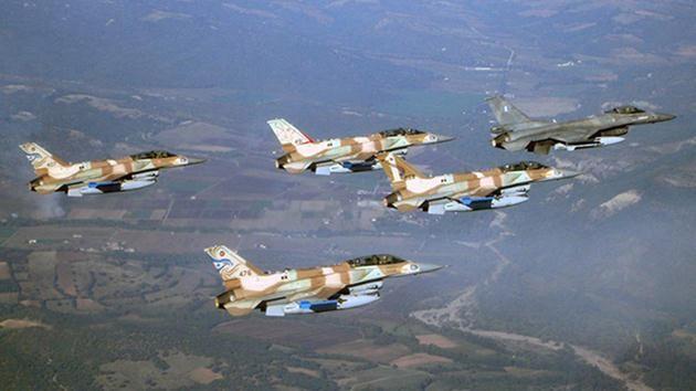 israil-savaş uçakları