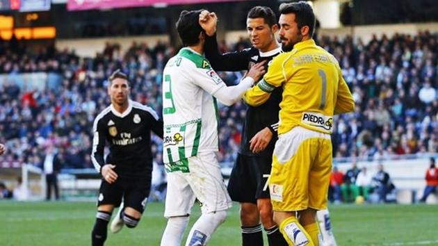 Cristiano Ronaldo-kırmızı kart