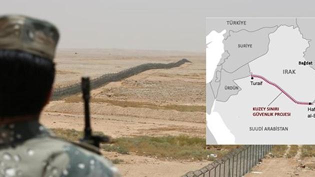 Suudi Arabistan-duvar