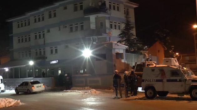 Tunceli polis karakolu saldırı