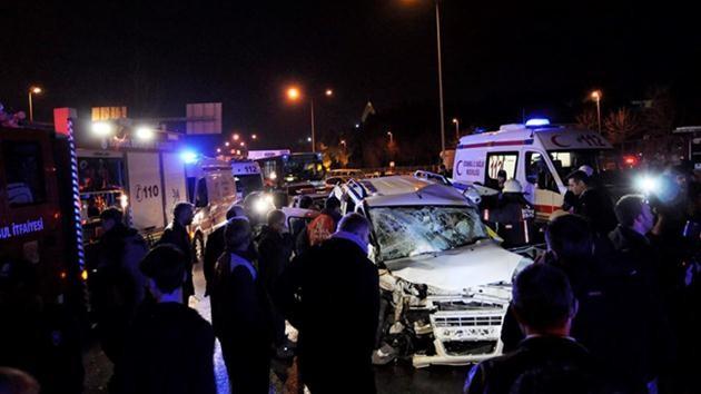 fatih-vatan caddesi-zincirleme kaza