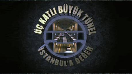 İstanbul'a 3 katlı tüp geçit projesi