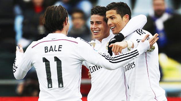 Real Madridli yıldız James Rodriguez'in ayağı kırıldı
