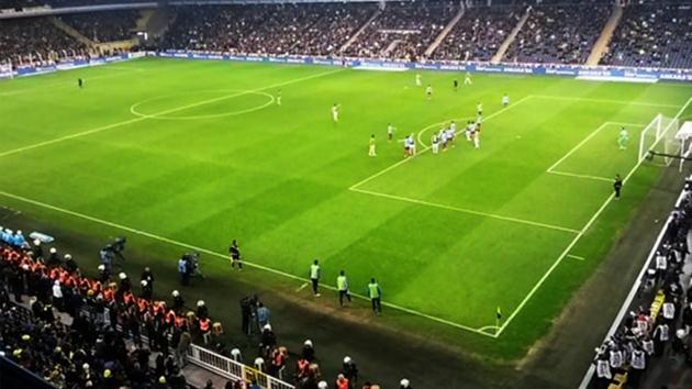Fenerbahçe-Trabzonspor maçına damga vuran şok kare!