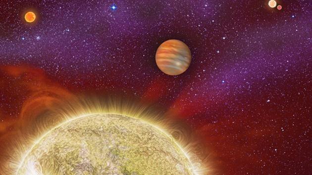 Dört güneşli gezegen
