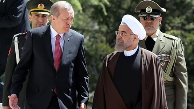 Cumhurbaşkanı Erdoğan İran'da resmi törenle karşılandı