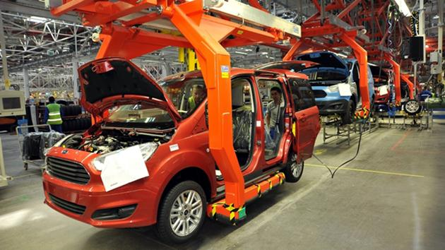 Ford üretimi durdurdu