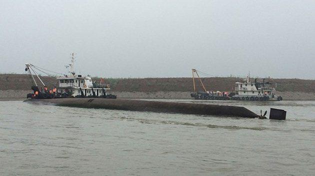 458 yolcuyu taşıyan gemi battı!