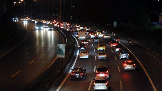 İstanbul'da bu akşam bu yol kapalı