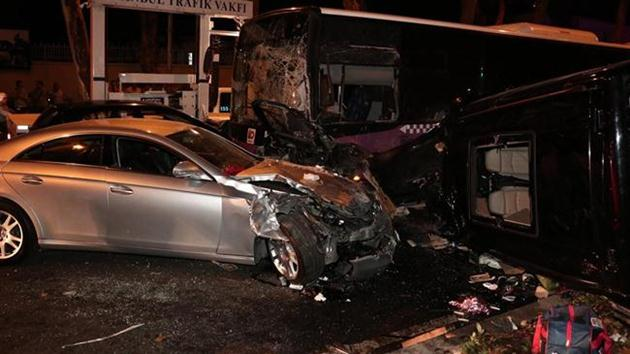 Beşiktaş'ta zincirleme kaza: 2 ölü