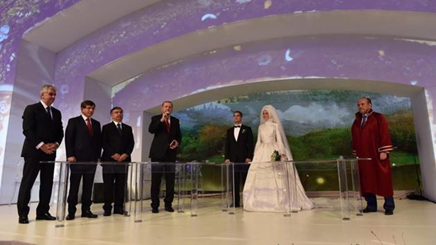 Abdullah Gül'ün oğlu Ahmet Münir Gül evlendi