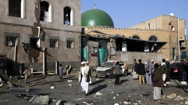 Yemen'de camiye bombalı saldırı: 29 ölü