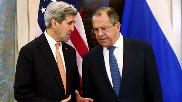 Lavrov ile Kerry ateşkesin ilk gününü görüştü