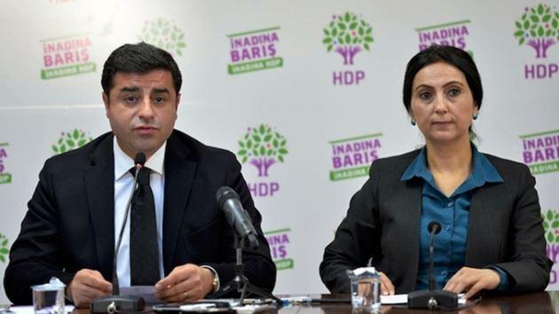 HDP'ye  operasyon! Demirtaş, Yüksekdağ gözaltında!