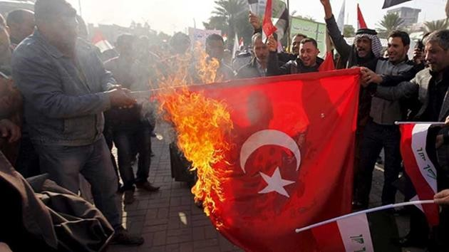 ırak-türk bayrağı