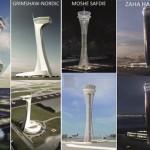 YENİ HAVALİMANI İÇİN YARIŞMA İstanbul Yeni Havalimanı'nın hava trafik kontrol kulesi için dünya devi tasarımcılar yarışıyor. Cengiz-MAPA-Limak-Kolin-Kalyon Ortak Girişim Grubu (İGA) tarafından yapılan havalimanının hava trafik kontrol kulesi için dünyanın önde gelen tasarımcılarını davet edildi. Tasarım yarışmasına Zaha Hadid, Moshe Safdie, Grimsaw-Nordic, Massimiliano Fuksas, Pininfarina-Aekom, RMJM Architects gibi tasarım dünyasının çok önemli isimleri hazırladıkları projelerle katıldı.  5 bin metrekare inşaat alanına sahip, 95 metre yükseklikte yapılması planlanan yeni hava trafik kontrol kulesi için şu tasarımlar yarışıyor: