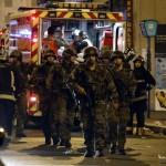 Fransa'da yaşanan terör saldırıları sonrası asker sokaklarda asayişi sağlamaya çalışıyor.  Fransa'nın başkenti Paris'te peş peşe silahlı ve bombalı saldırılar düzenlendi. 7 farklı noktada düzenlenen saldırılarda 130 kişi hayatını kaybetti. Fotoğrafçı: PIERRE CONSTANT Yer: Paris / Fransa Tarih: 14 Kasım 2015
