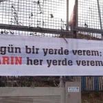 17. Ucu çok açık pankartlar hazırlayan belediye