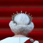 İngiltere Kraliçesi 2. Elizabeth, Almanya Başkanı Joachim Gauck'la görüşmek için, Berlin'deki Bellevue Sarayı'na geliyor. Fotoğrafçı: RONNY HARTMANN Yer: Berlin / Almanya Tarih: 24 Haziran 2015