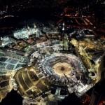 Ramazan ayının bitmesine bir gün kala, Mekke'de Müslümanlar Kabe'yi tavaf ediyor.  Yer: Mekke / Suudi Arabistan Tarih: 16 Temmuz 2015