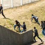Fransız polisi sığınmacıları engellemek için Calais limanında cop kullanıyor. Fotoğrafçı: PHILIPPE HUGUEN  Yer: Fransa Tarih: 17 Haziran 2015