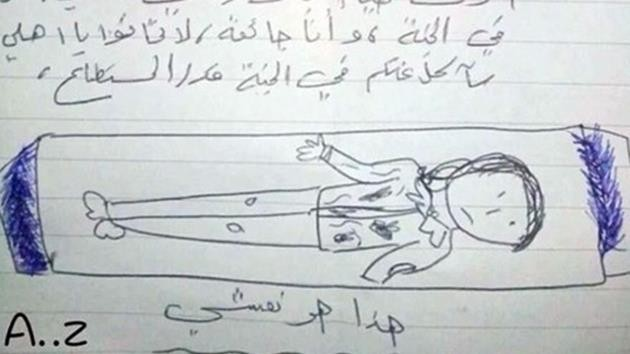 Açlıktan ölen Suriyeli kızın vasiyeti