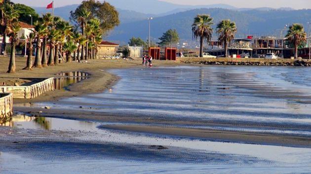 Akyaka-deniz çekilmesi