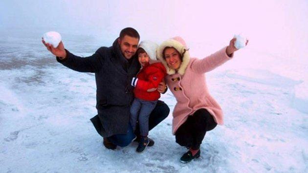 Antalya'ya yılın ilk karı yağdı!
