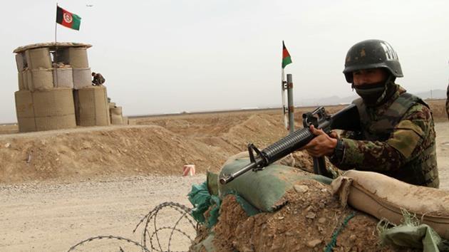 Afganistan-afgan asker