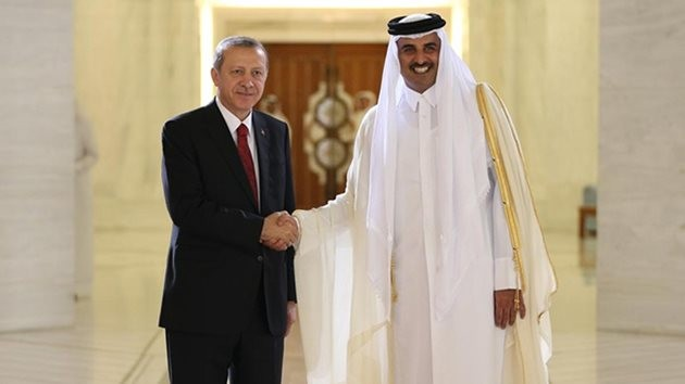 Erdoğan-Hamad El Tani-katar